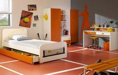 Cool Tennis Themed Room Even More Tennis Pinterest Tennis Bedroom Deco