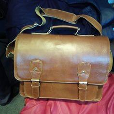 Messenger Bag Kulit Garut for Sale