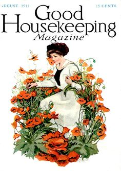 """""""Good Housekeeping"""" magazine cover - August 1911"""