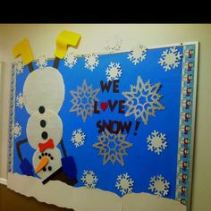 Change wording to: it's snow secret that Hatfield is made of good character....have traits written on the snowflakes.  KE
