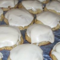 Frosted Banana Cookies.. o my goodness to die for!