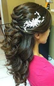 indian wedding saree hairstyle - Google Search