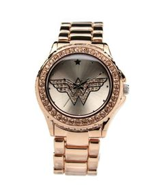 Wonder Woman Watch. Omg!!! Love it.. I need this, like now!!!