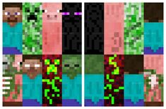 Minecraft+Printable+Bookmarks