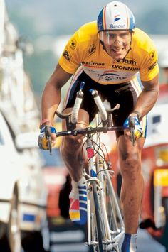 1991: The next rider to dominate the Tour de France was Miguel Indurain, who won five times in a row from 1991 to 1995.