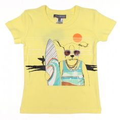 T-shirt John Surf Banana - Milkontherocks