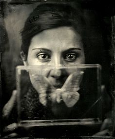 Secret, photography by Kalua K Krynska. Wet Plate Collodion. In People, Portrait, Female. Secret, photography by Kalua K Krynska. Image #310491