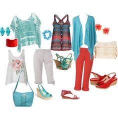 Shore Weekend Strolling, created by dixedreg on Polyvore