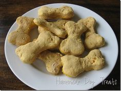 Two ingredients Dog Bisquits