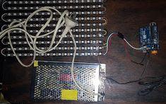 Proyectos Arduino: Panel LED Led Arduino, Panel Led, Blue Prints