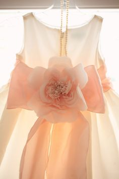 Peach dress for girl@Natalie Mitcham love this dress!