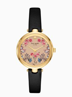 5f8eaa8af101 Kate Spade holland western floral watch