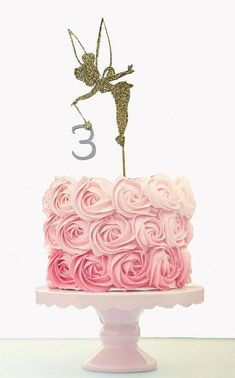 This item is unavailable Tinkerbell Cake Topper, Tinkerbell Birthday Cakes, Fairy Birthday Cake, Princess Cake Toppers, Tinkerbell Party, Birthday Cake Toppers, Tinkerbell Fairies, 16th Birthday, Glitter Party Decorations