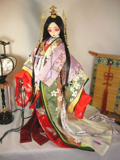 Heian Era, Heian Period, Ball Jointed Dolls, Board, Clothes, Ideas, Dresses, Outfits, Vestidos