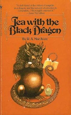 R.A. MacAvoy, love the Black Dragon.