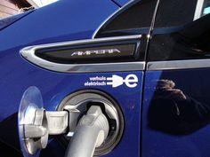 Elektrische Opel Ampera als bedrijfsauto