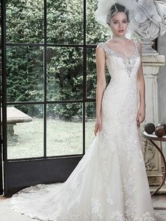 Maggie Sottero Darija Wedding Dress Currently For Sale At Off Retail