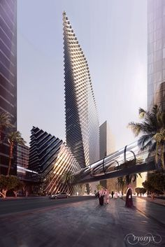 RIYADH | KAFD World Trade Centre Parcel 4.06 design by Foster + Partners