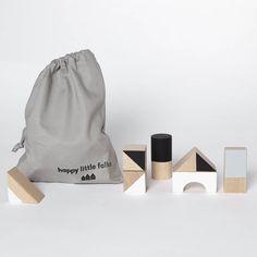 Monochrome Large Wooden Blocks