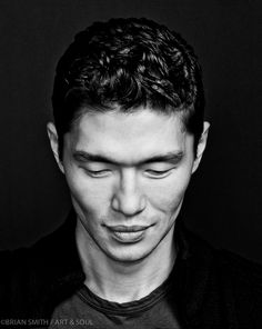 Photograph FIlm Noir: Rick Yune by Brian Smith on Famous Portrait Photographers, Famous Portraits, Celebrity Portraits, Rick Yune, Photography Challenge, Take Better Photos, Papi, Male Face, Famous Faces