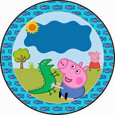 Fazendo a Propria Festa: KIT DE ARTES PERSONALIZADAS DIGITAIS TEMA GEORGE PIG Cumple George Pig, Peppa E George, George Pig Party, Pig Birthday, Happy Birthday, Birthday Parties, Peppa Pig Printables, Cumple Peppa Pig, Pugs