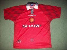 1996 1998 Manchester United Adults Medium Football Shirt Top Man Utd  Manchester United Shirt 2b246fe71