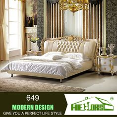 Latest Bed Designs Pictures Of Beds New Design Furniture Italian Bedroom Set Double > BeltlineBigband.com