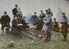 マルネの戦いでのドイツの兵士たち