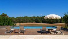 Un refrescante baño en la piscina después de un soleado dia #sesarenes #estrenc #Mallorca #playa #beach #strand