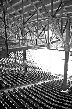 Former Tiger Stadium in Detroit, Michigan Baseball Park, Detroit Sports, Detroit Tigers Baseball, Tiger Stadium, Sports Stadium, Stadium Tour, State Of Michigan, Detroit Michigan, Detroit History