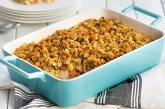 Find easy chicken casserole recipes from Kraft Recipes! Look no further: your new family favorite chicken casserole recipes are right…