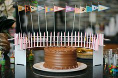 A candle for every year for milestone birthdays. Party with a Celebration Stadium candle holder. We want to help you make birthdays matter! 75th Birthday Parties, 50th Birthday, Birthday Celebration, Birthday Candles, Birthday Ideas, Unique Candle Holders, Mini Flags, Milestone Birthdays, Family Traditions