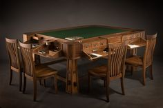 D&D For The Rich: Beautifully Crafted Gaming Tables