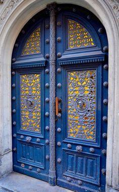 Stunning Doors ~ Paris, France