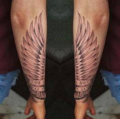 #tattoo #wings #wingtattoo