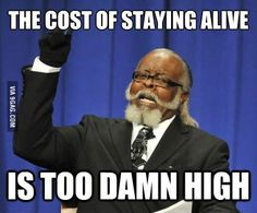 As an adult living paycheck to paycheck
