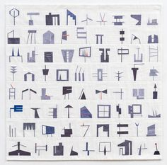 "Erin Wilson - Shape Study #1, 2011, 36"" x 36"" (available)"