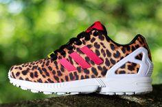 ADIDAS ZX FLUX (LEOPARD) | Sneaker Freaker I love these!!