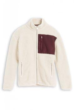 hot sale online 6ddbb 7679f Wood Wood - Mauro jacket Bois Non Traité, Gentilhomme, Colliers