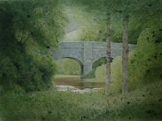 BRIDGE ON THE RIVER TAMAR by Kevin Hughes