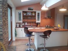 Laminate shaped counter top and island