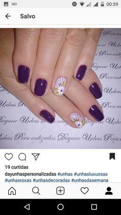 How To Do Nails, My Nails, Pretty Nails, Nail Designs, Hair Beauty, Nail Art, Nail Bling, Gorgeous Nails, Make Up