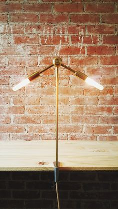 TWOFOR minimal clamp table light by uUuCo on Etsy