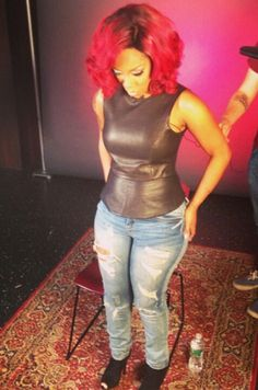 K Michelle Blonde Hair ... michelle on Pinterest | K michelle, K michelle hair and Follow me