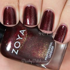 Zoya India Peachy polish