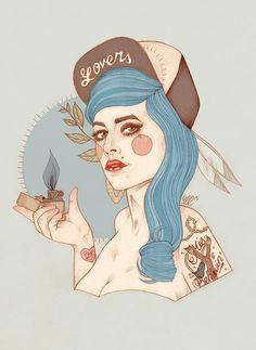 Liz Clements #illustration