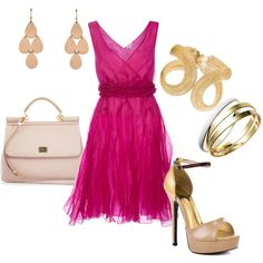 Hot in Pink! Perfect look for date night!   http://www.secretkrushcorner.com/collections/dresses/products/flirty-ruffle-dress