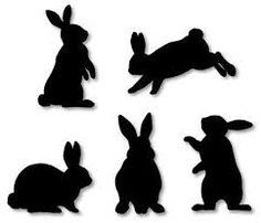 Картинки по запросу трафарет кролика