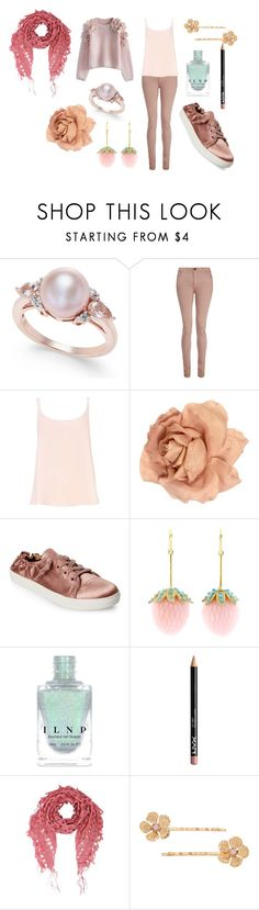 """Julie"" by evelyngiles ❤ liked on Polyvore featuring dVb Victoria Beckham, Chanel, Steve Madden, Irene Neuwirth, NYX and LC Lauren Conrad"