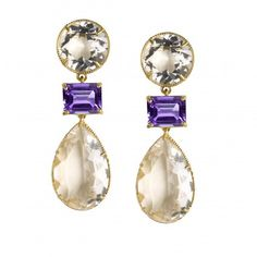 Bridal earrings, Tamsin from Asha by ADM